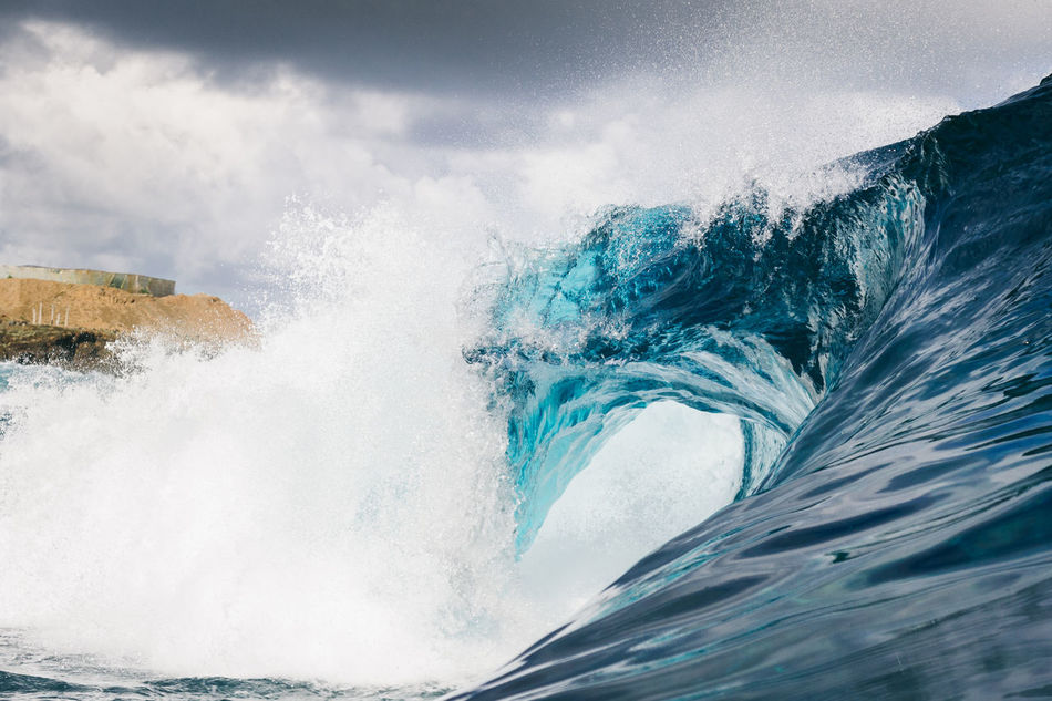 Blue Canarias Canary Islands Day Eye4photography  EyeEm Best Shots EyeEm Gallery EyeEm Nature Lover Motion Nature No People Outdoors Power In Nature Sea Sky Surf Surfing Tenerife Water Wave Wave Waves Waves And Rocks Waves Crashing Waves, Ocean, Nature