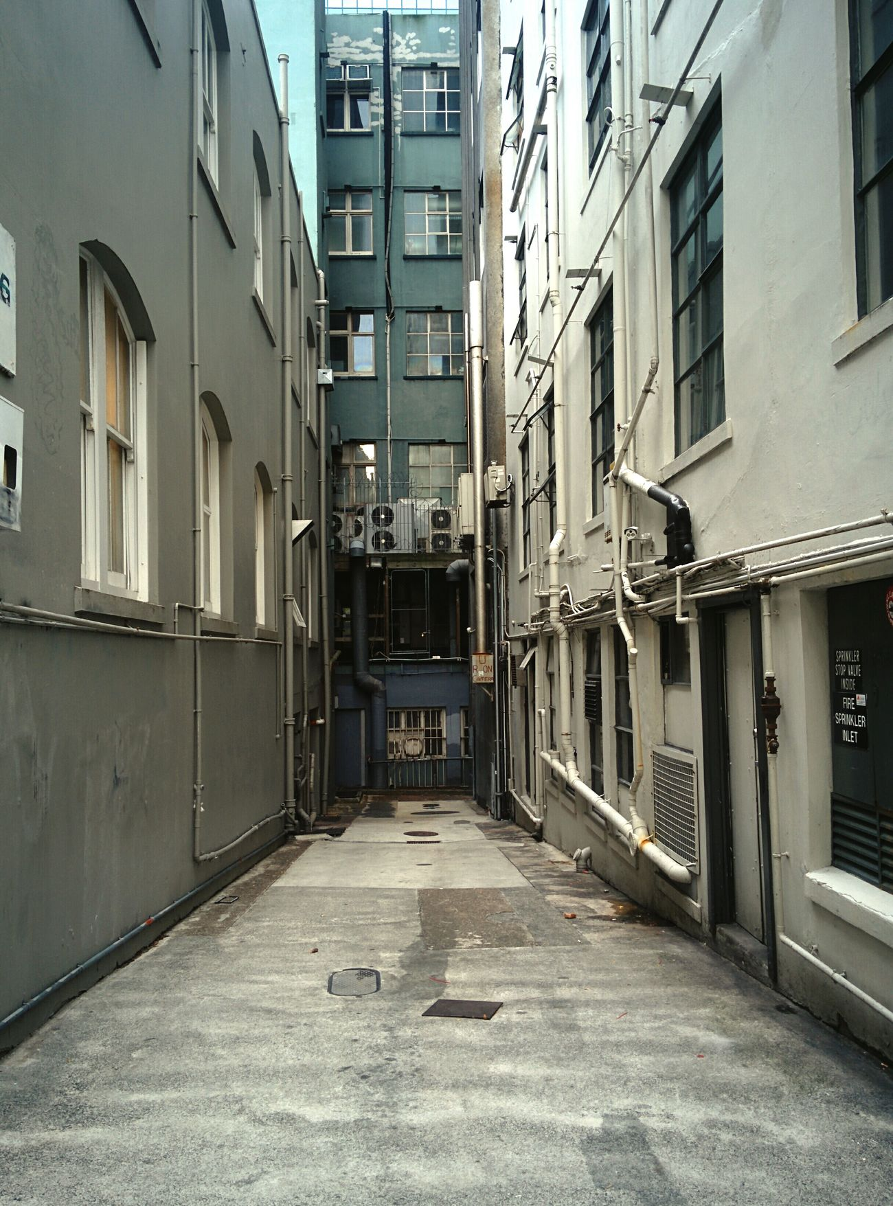 Alley No People City