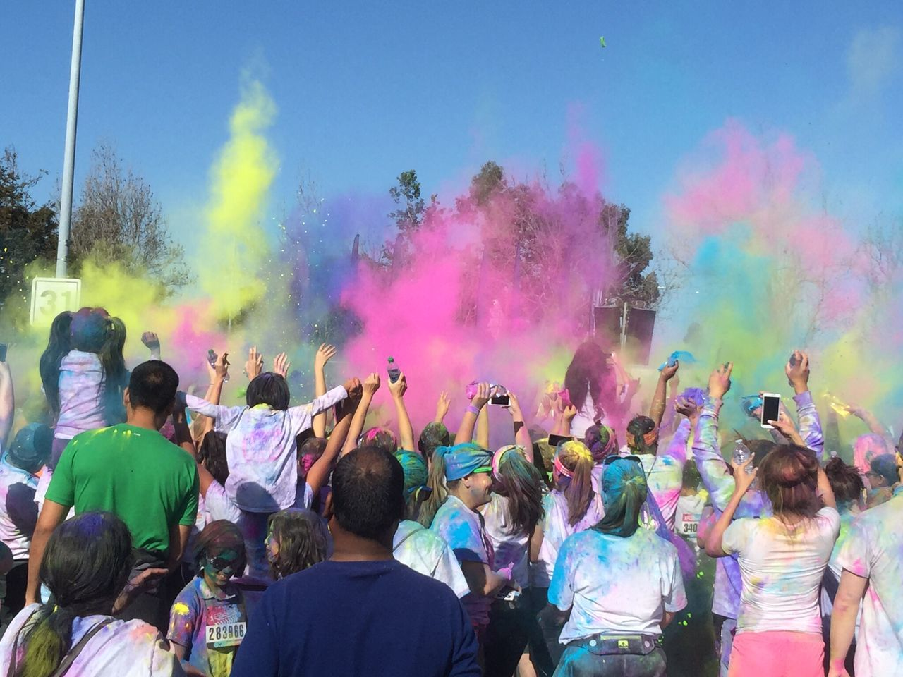 Color run madness
