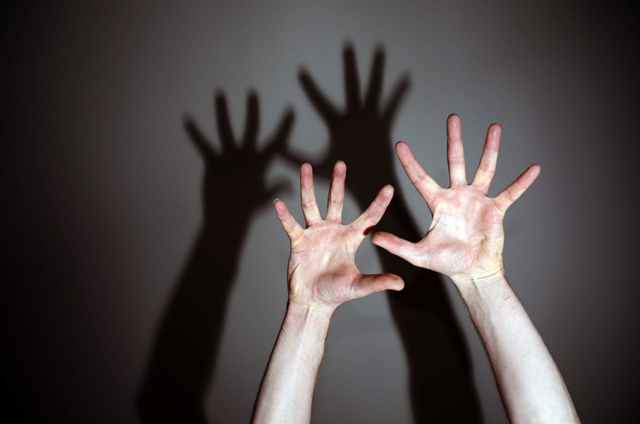 Beautiful stock photos of black, Arms Raised, Black Background, Human Arm, Illuminated