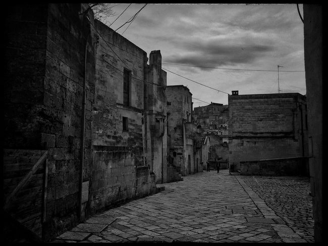 3rd day of travel - Visiting Matera Black And White EyeEm Best Shots Blackandwhite Photography Bw_lover Streetphoto_bw Blackandwhite Monochrome Bw_collection TheMinimals (less Edit Juxt Photography) Traveling