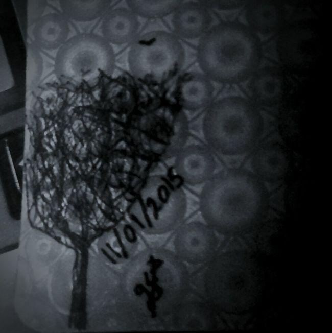 Tree Art <gs> Black & White
