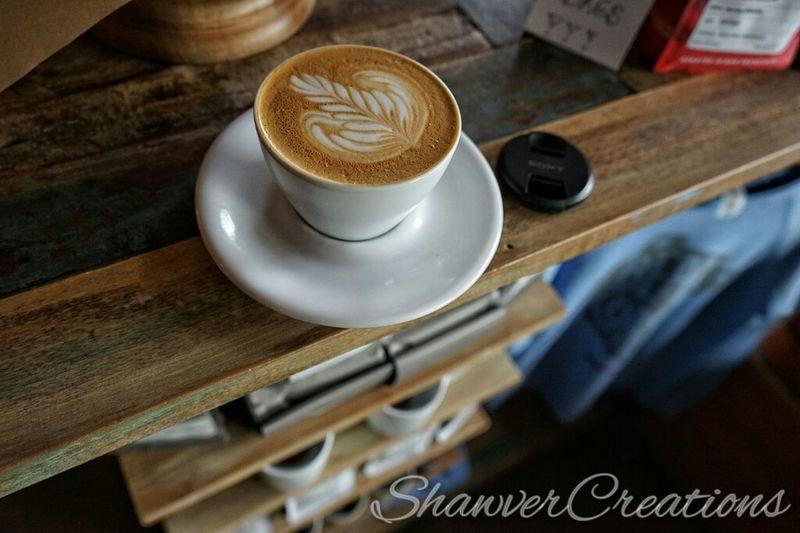 Cappuccino from Bear Coast Coffee Sanclemente