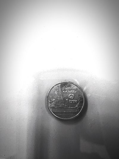 one baht Coin Metal First Eyeem Photo
