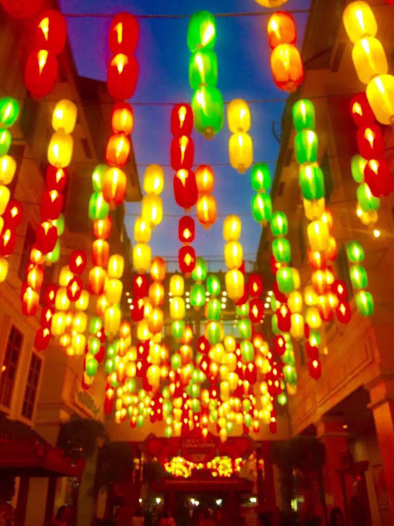 Chinese Lantern Chinatown Colorful Lanterns Lanterns