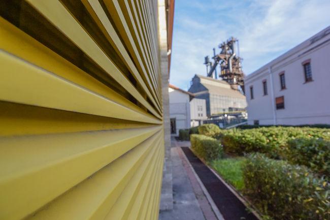Parque Fundidora Architecture Composition Industrial Landmark Museum Park Perspective Urban Yellow
