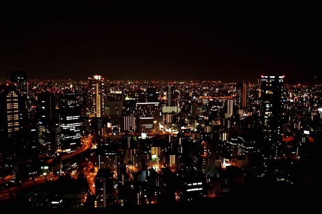 Learn & Shoot: After Dark Umedaskybuilding like Shining Star  Trip To Japan