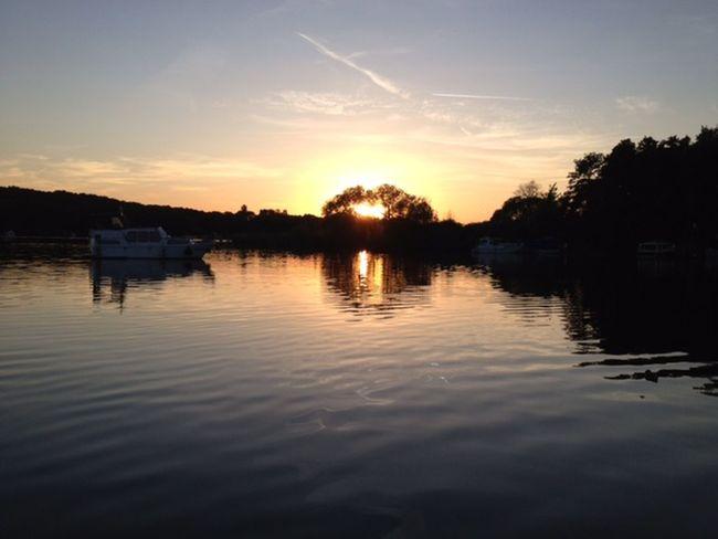 Glindower See Brandenburg Deutschland German Germany🇩🇪 Glindow Sea And Sky Sunrise Sunset Werder (Havel)