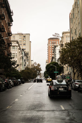Architecture City City Life Day No People Outdoors San Francisco San Francisco Streets Sky Street View Tree