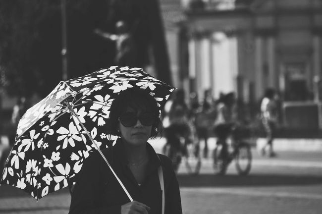 Umbrella Girl | Bw_collection EyeEm Bnw Bws_worldwide Streetphotography