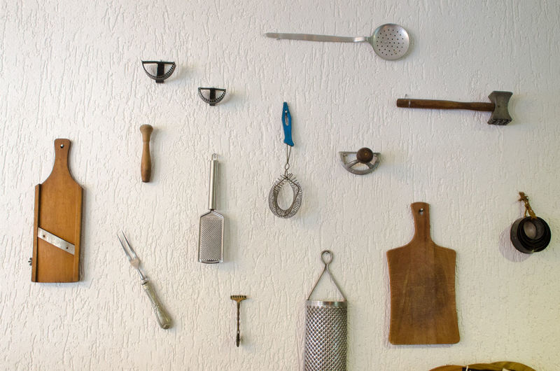 Arrangement Choice Indoors  Kitchen Utensil Large Group Of Objects Neat No People Studio Shot Variation