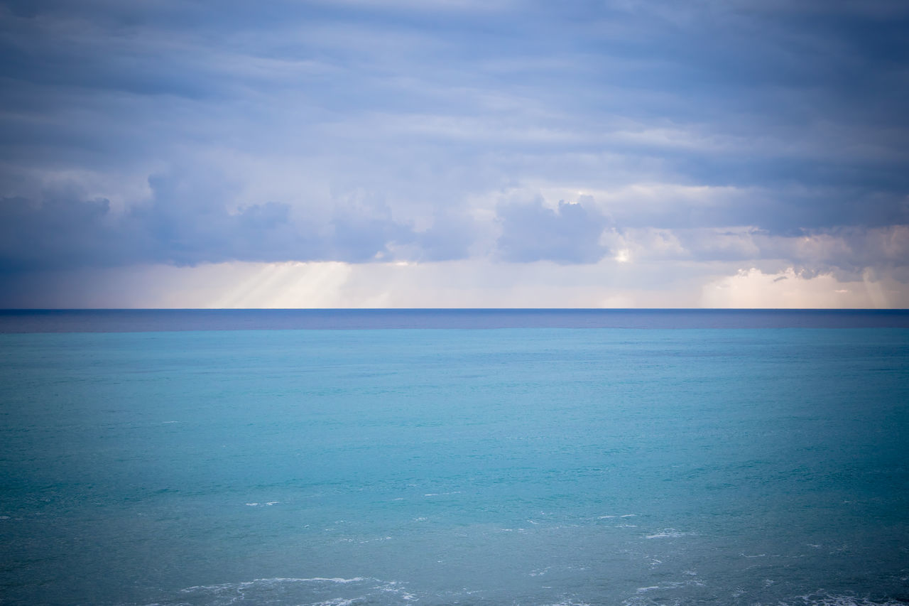 Beach Beauty In Nature Blue Cloud - Sky Day Ethereal Horizon Horizon Over Water Landscape Nature No People Outdoors Scenics Sea Sky Water