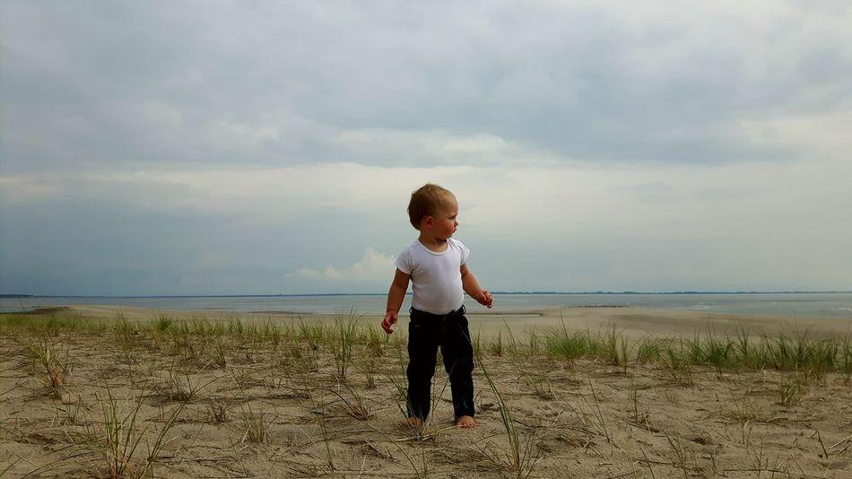 Our beautiful coastline in the Netherlands. This is the beach at Tweede Maasvlakte. Tweede Maasvlakte Northsea Noordzee Coastline Coastline Landscape Horizon Over Water