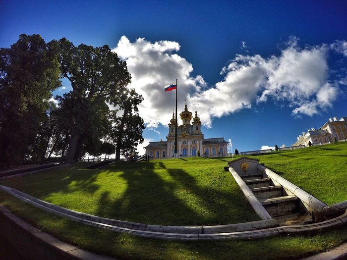 Saint Petersburg Russia World Flag Patriotism Sky