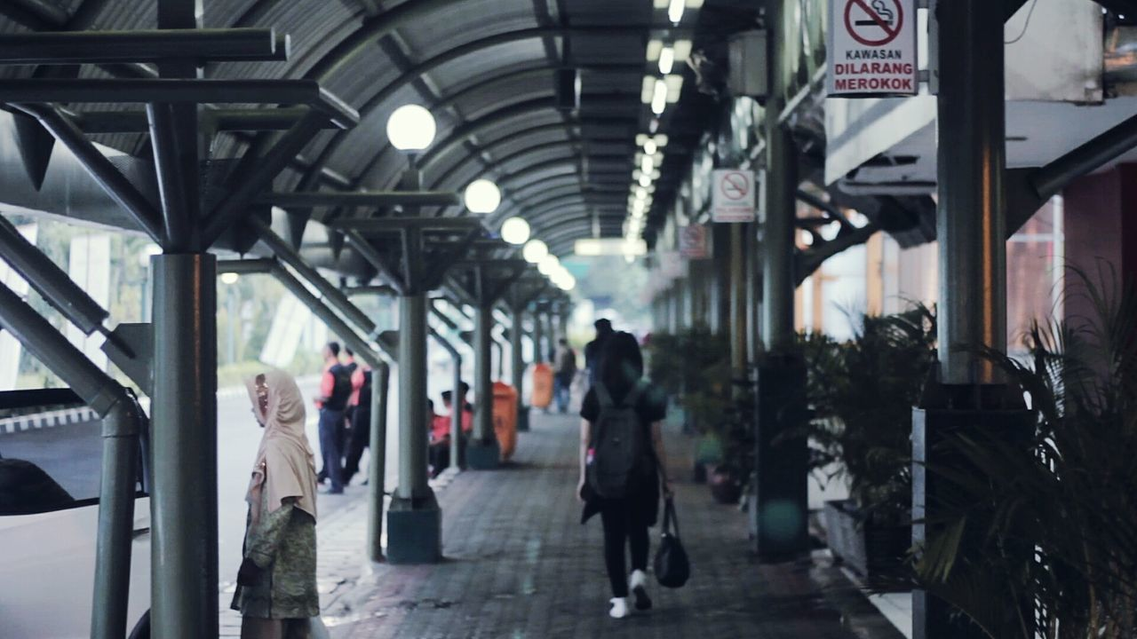 Out of focus Walking Transportation Architecture People City Urban Photography Jakarta Vscocam Urban Lightroom Adobe Film Look Filmlooks Premiere Film Making