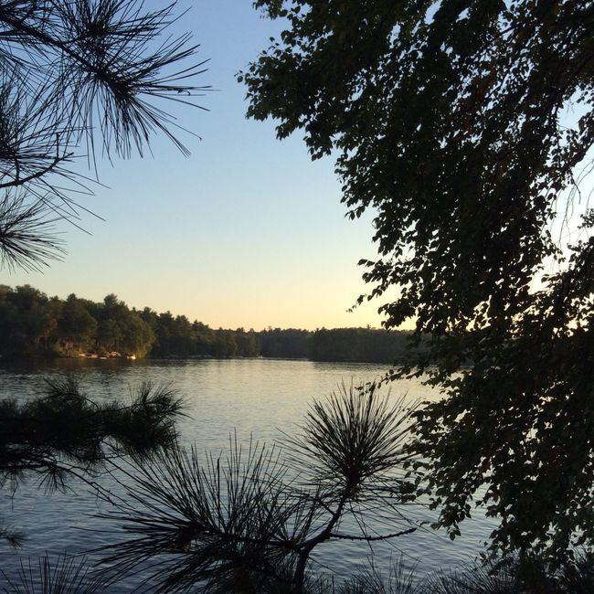 Pawtuckaway Lake Water Camping