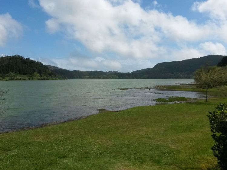 Lake Landscape Tranquility Beauty In Nature Furnas(Azoren) Azores, S. Miguel