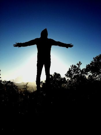Freedom Capturing Freedom Selfshot Alone Sky Skyandclouds  Sky And Mountains Silouette & Sky Silouette And Shadows Sunset Sunset_collection Sunset Silhouettes Sunsets Mothernature Mountain_collection Mountains Plants Coldwind Wind Peace 5:17pm The Wanderer 1906 Silouette Photography