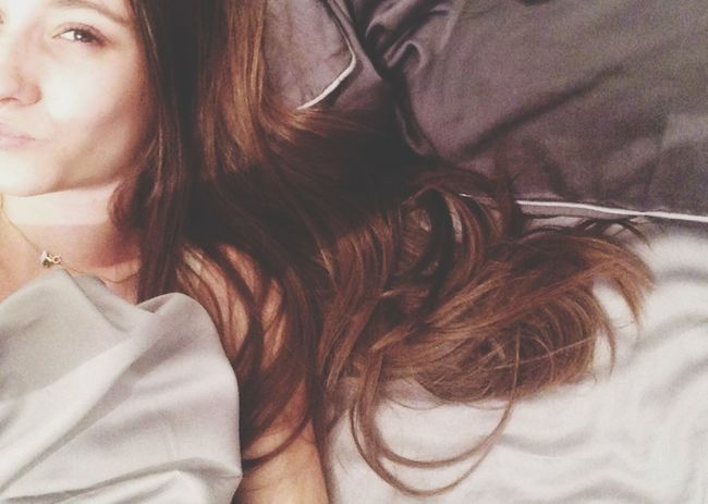 Bed Sheet AlarmClock ThatsMe Selfportrait Selfie ✌ Hello World Natural
