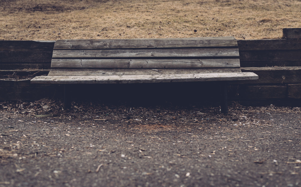 Absence Bench Day Empty Nature No People Outdoors Park - Man Made Space Seat Wood - Material