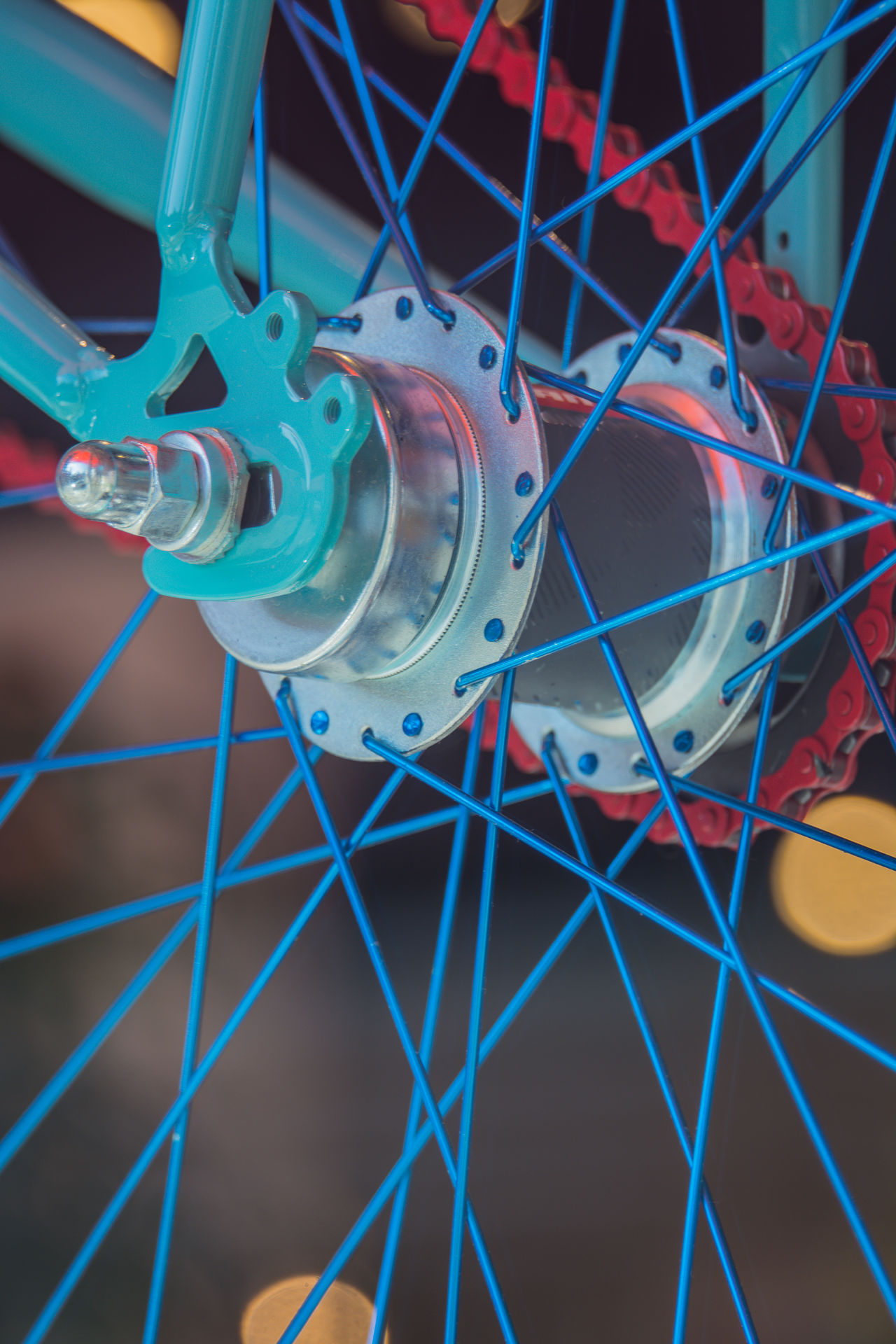 Bicycle Bicycle Spokes Close-up Complexity Creativity Day Engineering Indoors  Industry Laboratory No People Science Technology