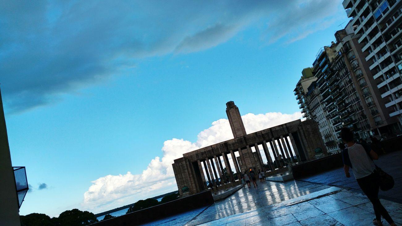 Rosario, Santa Fe Monumento Nacional A La Bandera Rosario, Argentina RosarioCity Lluvia En La Ciudad