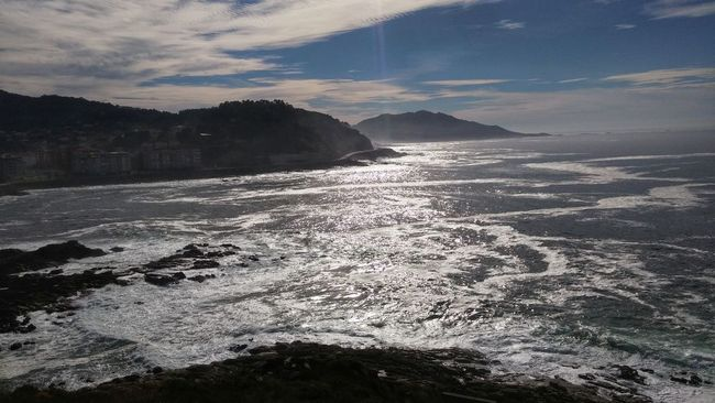 Sea Water Scenics Beauty In Nature Tranquil Scene Sky Coastline Nature Seascape Wave Cloud Cliff Calm Shore Cloud - Sky Day
