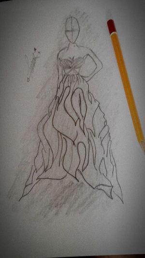 Fashiondesign Dreamweddingdress Designbyme