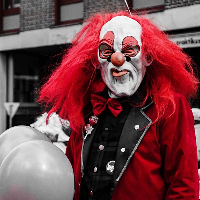 That's Me Having Fun Basler Fasnacht Fasnacht Clown Angry Cheese! Basel