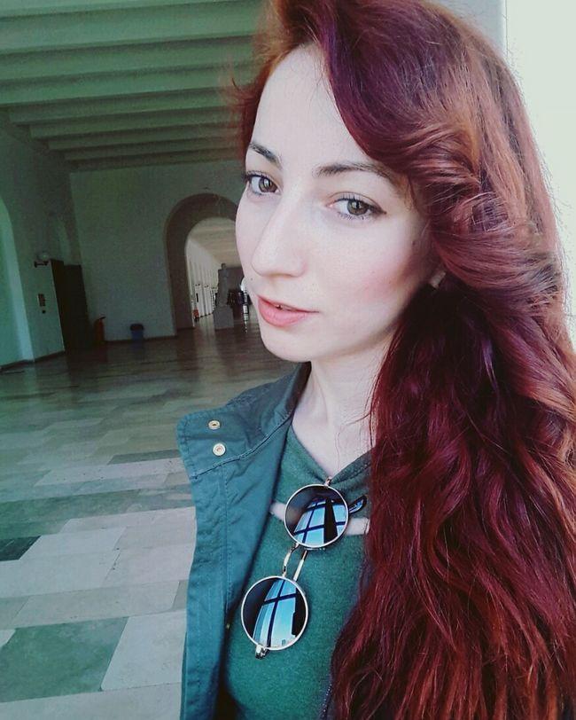 Günaydın😊 Studying Selfie ✌ Picoftheday Green Spring Pretty Itu1773 Istanbuldayasam Hazel Eyes  Taşkışla Selfportrait Good Morning Günaydın Beauty Fashion&love&beauty