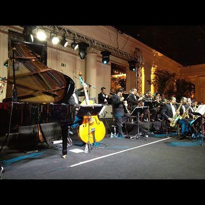 Samysband Livesound På Party stage digico record amazing mixer orchestra