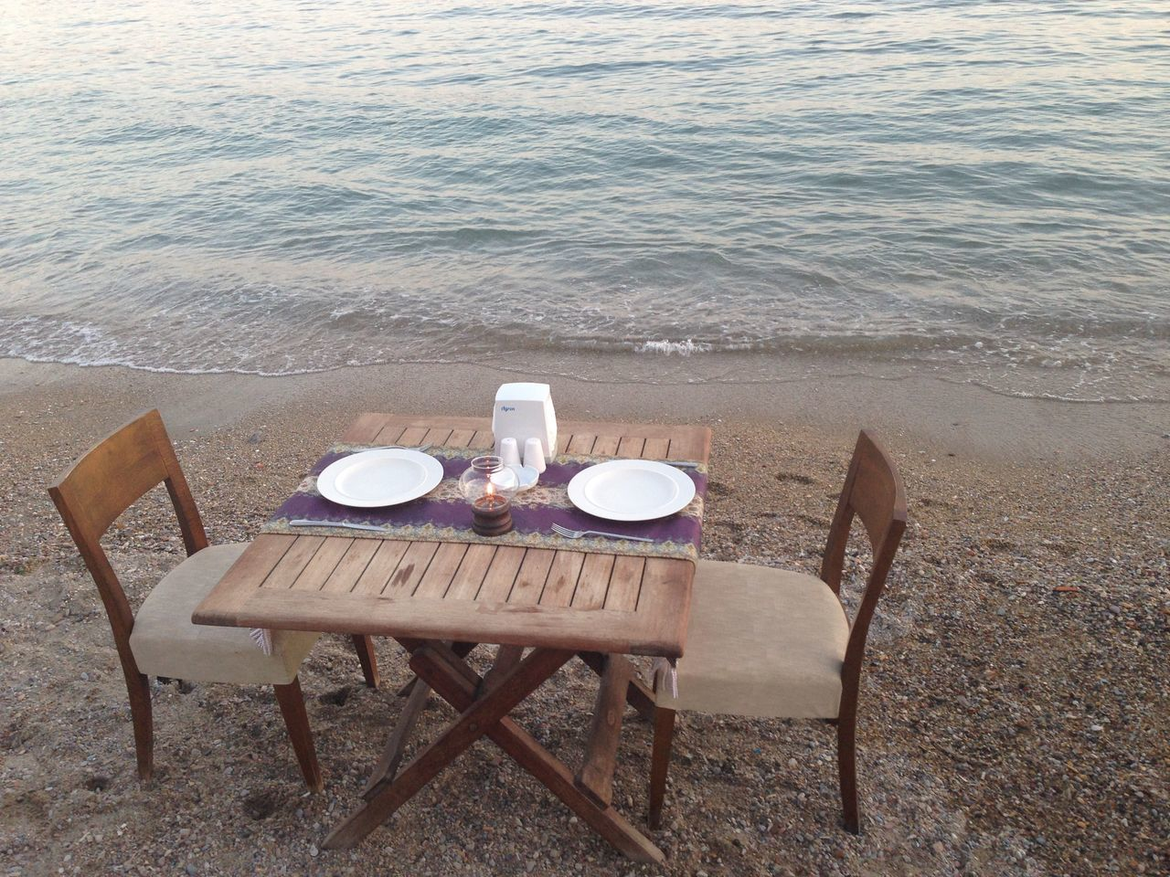 Outdoors Sea Shore Tranquil Scene Tranquility Water Dinner Time Dinner By The Beach Bodrum, Turkey Dinner Date Dinner Table