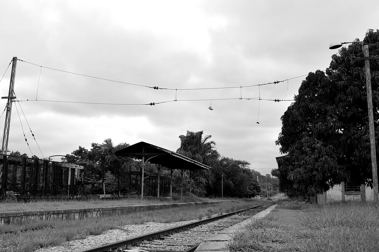 Old and deactivated train station in Brazil Abandoned Abandoned Places Blackandwhite Brazil Deactivated Historic Old Out Of Order Train Station Transportation Vintage