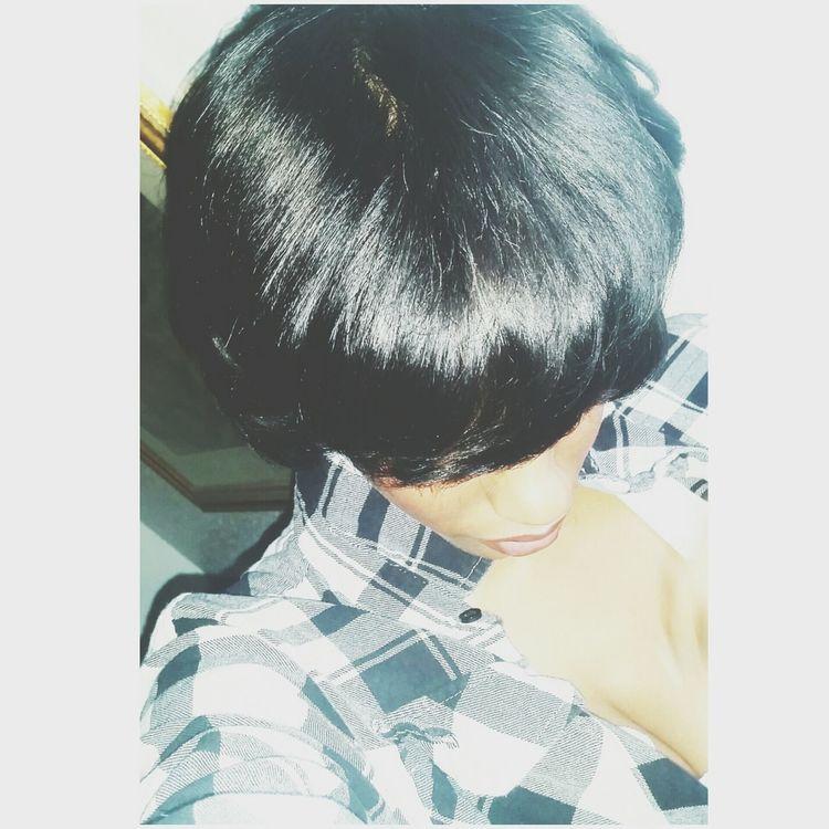 HealthyHair New Haircut Taking Photos Cute♡