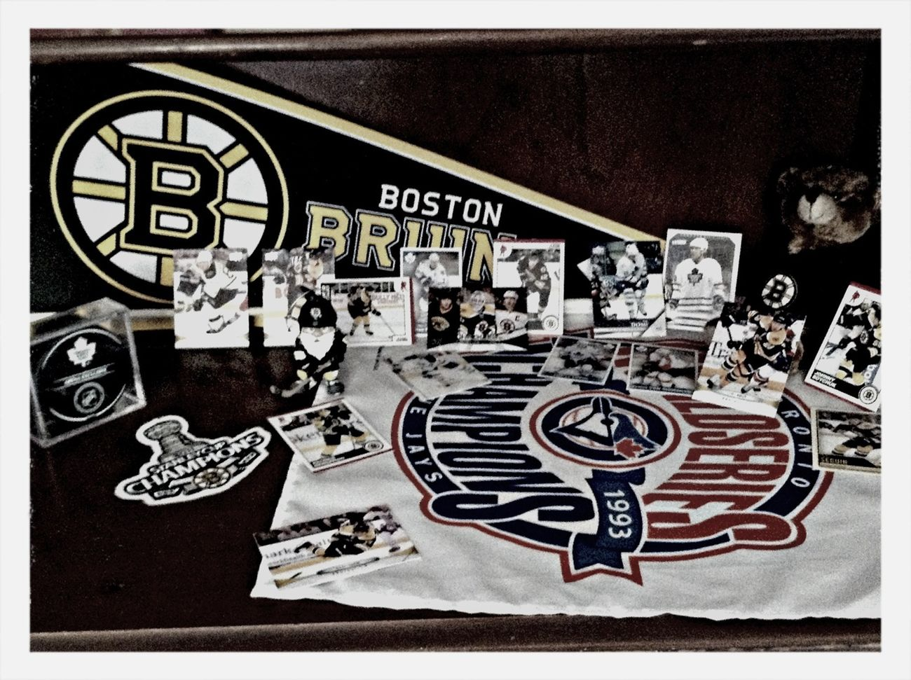 Haha i totally just put this together 5 min ago! Hockey Baseball Bruins Maple Leafs
