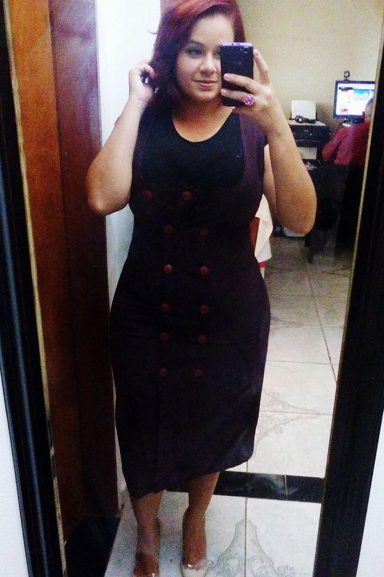De uns dias atrás... 😉 That's Me Hi! Hello World Social Dress Casamento Eufui Happy Smile :) Arrumada