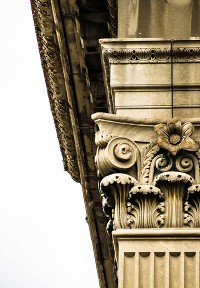 Detroit Michigan Central Station Abandoned Architectural Detail