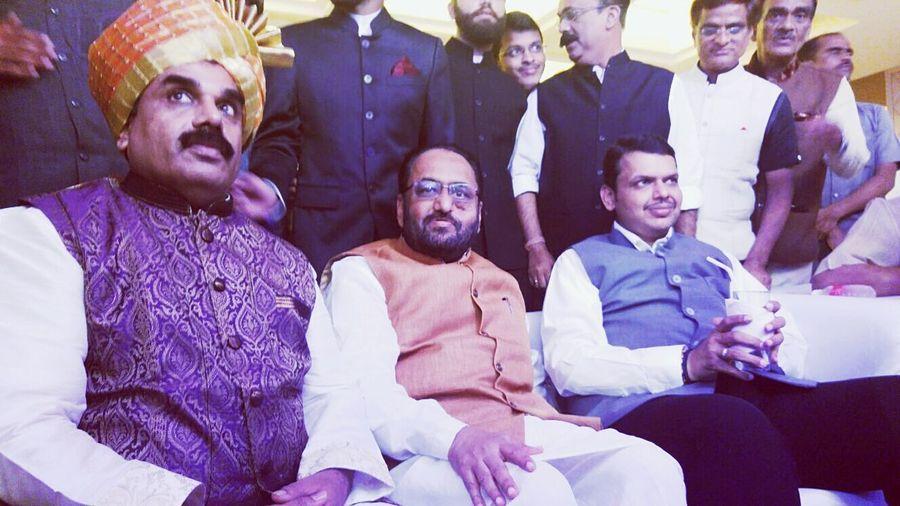 C.M of maharashtra at Garware club House on 20 feb First Eyeem Photo