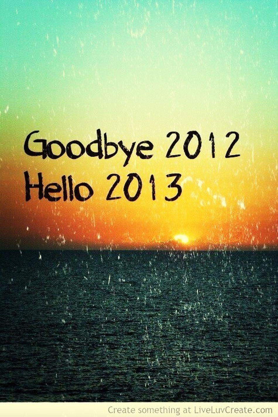 Liebes 2013, Werde Bitte Nicht So Schlimm Wie Deine Vorgänger , Dann Bin Ich Gℓ ücklich =D <3