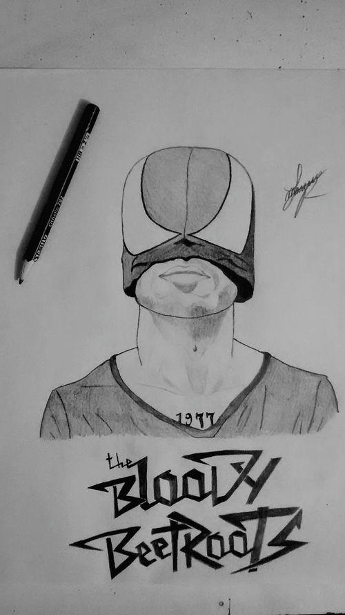 Terminado UwU Art, Drawing, Creativity Drawing Pencil Drawing Blackandwhite Pencil Art Dibujo A Lapiz Sketch TheBloodyBeetroots Sirbobcorneliusrifo