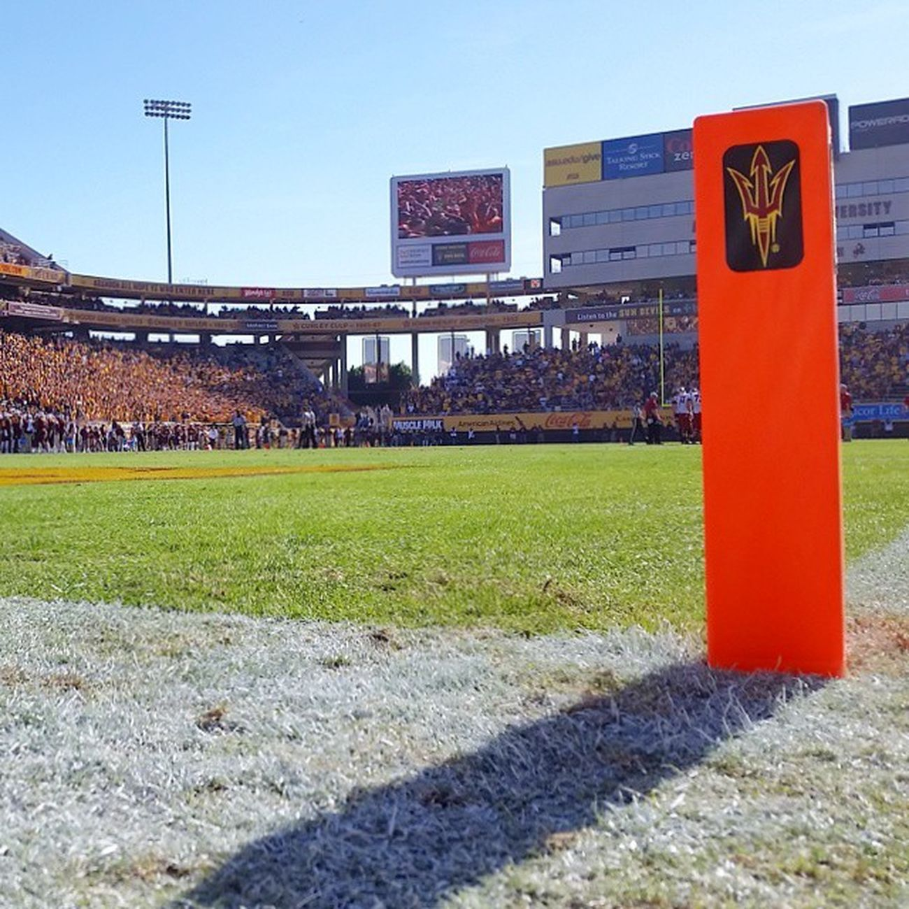 Couldn't ask for a better day for Collegefootball in November. Gameday in the Sun Sundevils