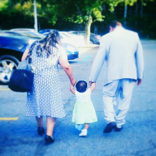 Family Walking Togetherness