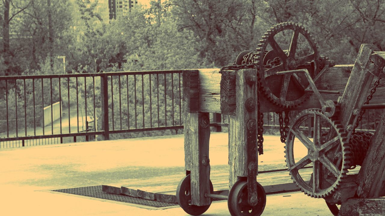transportation, wheel, day, tree, no people, outdoors, nature