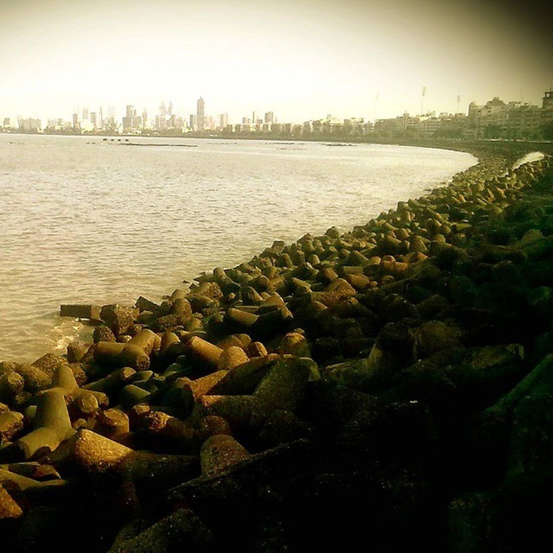 Marindrive one of the bst place to hang around!!! Peacefulplace Beauty Loveingit