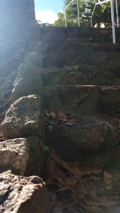 Stone Steps No People Outdoors Day Built Structure Architecture Nature Ancient Civilization Sky Scenics Forrest Photography Forest Tranquility Staircase Stairs Cobble Stones Glimmering GlimmeringSun Android Photography Australian Photographers AndroidPhotography