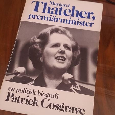 'Margaret Thatcher, Prime Minister', written in... 1978! There is not a word of Mrs. Thatcher's premiership in this book. That does not mean though, that it is not interesting. Thatcher MargaretThatcher Ironlady Theironlady