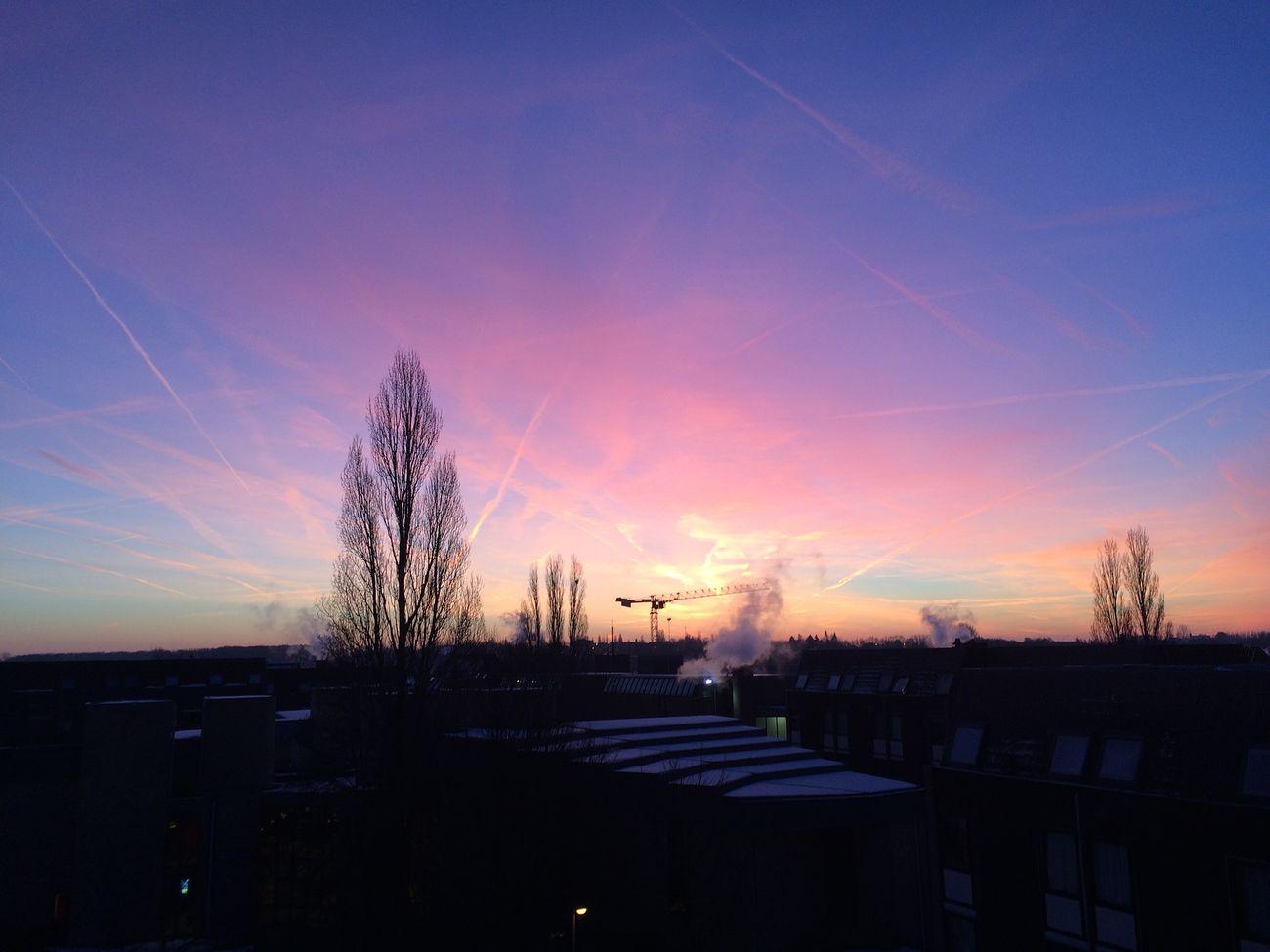 Louvainlaneuve Nofilter Belgium. Belgique. Belgie. Belgien. Etc. Urban Landscape Sunshine Kot Vieuw
