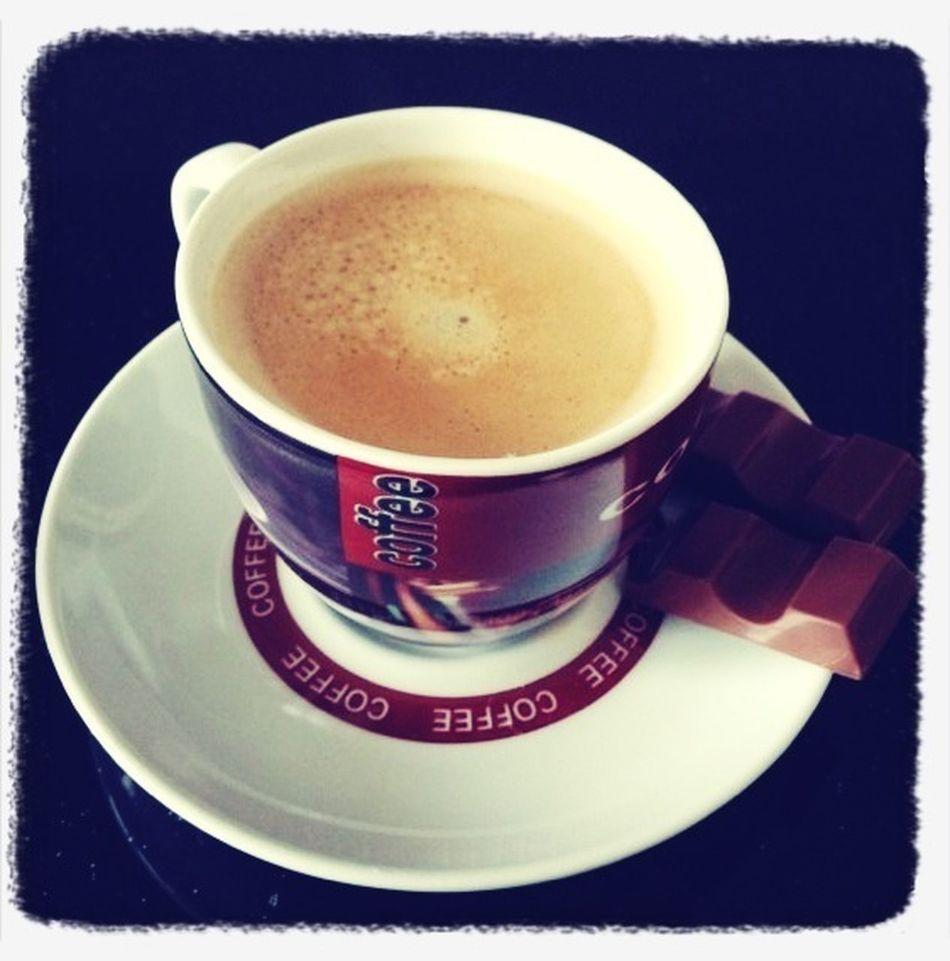 Espresso Und Kinderriegel