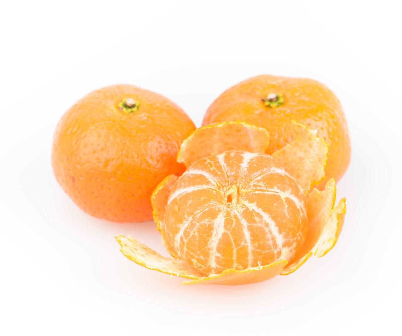 white background, studio shot, fruit, orange - fruit, food and drink, still life, food, healthy eating, orange color, freshness, citrus fruit, close-up, no people, day