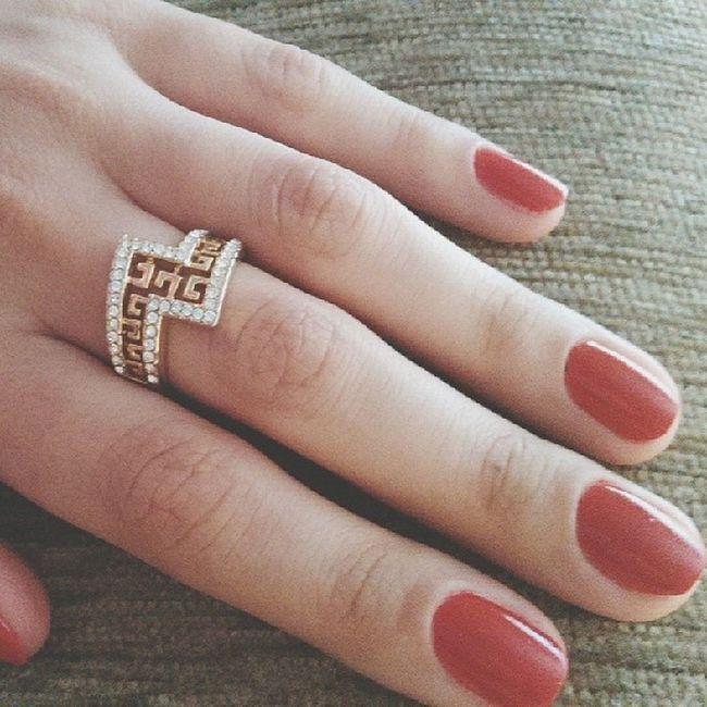Привет, мир! ?  красный Red Nails Goodday loveisintheair color instagood